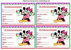 Modifier la description      Anniversaire : Etiquettes et invitations Mickey et Minnie http://nounoudunord.centerblog.net/2093-etiquettes-mickey-pour-les-cadeaux-anniversaire