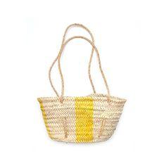 Basket woven palm
