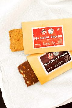 """No Udder Protein Bars Review - dairy-free, gluten-free vegan """"power"""" bars with clean ingredients"""