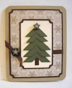 photo corners for a christmas tree, great idea!