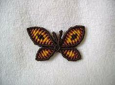 mariposa de macrame - Buscar con Google