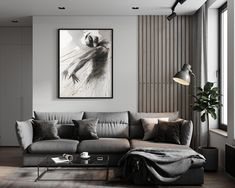 29 Unique Living Room Wall Covering and Paneling Designs « housemoes Living Room Modern, Home Living Room, Living Room Decor, Apartment Interior, Apartment Design, Home Room Design, Interior Design Living Room, Living Room Tv Unit Designs, House Rooms