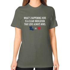 LAFloods2016 Unisex T-Shirt (on woman)