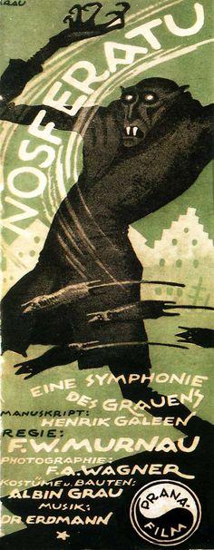 Nosferatu (1922) directed by F.W. Murnau