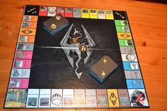 Skyrim Monopoly Set... omg omg i want it!!!