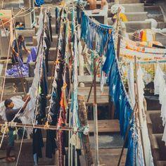 Прачечная Дхоби Гхат. Мумбаи