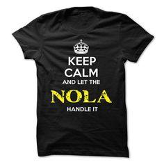 NOLA KEEP CALM Team - #black shirt #tshirt rug. SATISFACTION GUARANTEED => https://www.sunfrog.com/Valentines/NOLA-KEEP-CALM-Team-57065933-Guys.html?68278