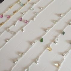Showstopper gemdroplet necklaces from Lily Flo jewellery for the Royal Academy of Dance