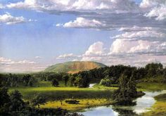 Frederic Church - West Rock, New Haven