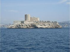 "The Chateau d'If...on an island off Marseilles. Originally a prison and used as the setting for ""The Count of Monte Cristo"" by Alexander Dumas."