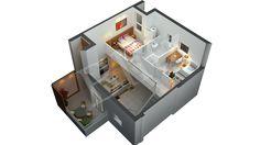 At Blitz 3D Studio we offer  Architectural 3D floor plans design, 3D building home plan design, 3D room design, 3d home architecture services, 3D Floor Plan.