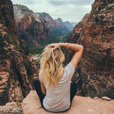 Sitting upon a cliff is perfect for self-reflection. Truly amazing. Being still and conscious in the moment is what we enjoy at https://itsmypleasure.com.au