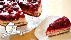 Beeren-Nougat-Crunch-Torte - Thermomix® - Rezept von Vanys Küche Tiramisu, Cheesecake, Ethnic Recipes, Desserts, Food, Winter, Youtube, Oven, Food And Drinks