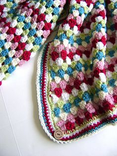 Ravelry: creativedesign's Cath Kidston Inspired Blanket