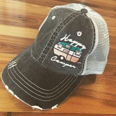 Hat { Happy Camper }