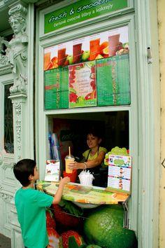 Our favorite juice bar in Prague
