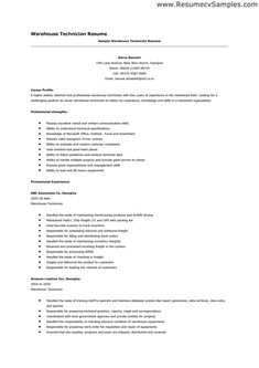 best warehouse resume examples warehouse is a commercial building for storage of goods - Warehouse Resume Template