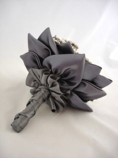 back of a brooch bouquet - beautiful