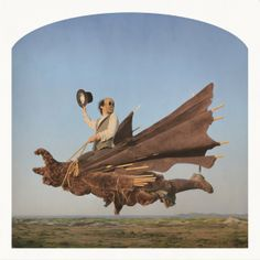 Nicholas Kahn and Richard Selesnick, Rider of the Apocalypse, archival inkjet prints, 12 x 12 inches. © Nicholas Kahn and Richard Selesnick, courtesy of the artists Surrealism Photography, Art Photography, Photo Art, Photo Collage, College Art, Painting, University Art, Art, Magic Realism