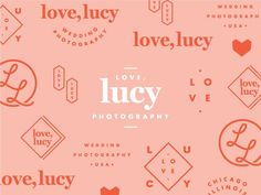 More snippets from the Love, Lucy branding, created a few months back. I loved how versatile the client let me be when designing different brand elements. Also, how fun is the color palette?