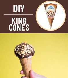 Homemade King Cones | 13 Classic Ice Cream Truck Treats You Can Make At Home