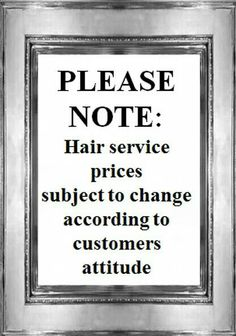 flirting quotes about beauty salon service prices