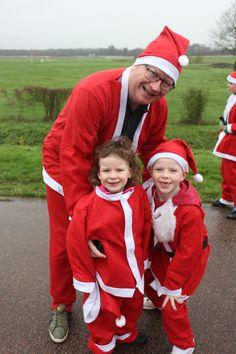 Our first ever Santa Fun Run
