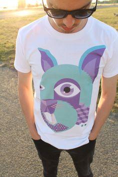 Rabbit Tee for Men #t-shirt #tshirt #t-shirts #tshirts