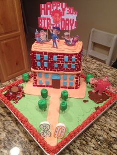 wreck it ralph cake | Wreck-It Ralph Cake By BrittanyGarcia