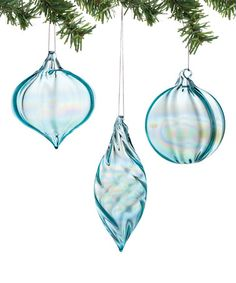 Another great find on #zulily! Teal Ornament Set by 1956 Christmas #zulilyfinds