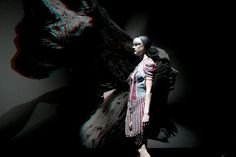 The Anaglyph 3D Fashion Show in Animated GIFs