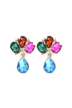 Lizzy Earrings » These are so pretty, I love the colors and style!