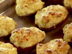 Twice-Baked New Potatoes recipe from Ree Drummond via Food Network