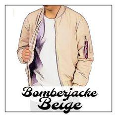 ➥ Der Bomberjacke Beige Look ➟ So gehts richtig! | Meine Bomberjacke