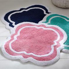 Upstairs Guest bath rug-- Clover Bath Mat | PBteen