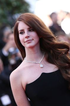 Lana Del Rey with Chopard's jewelry in Cannes, 2012