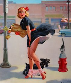 """b6fd9c0f12e gmgallery  """" Hold Everything by Art Frahm (1954) www.stores.eBay"""
