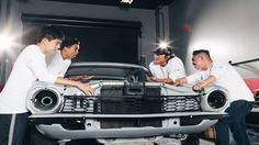 How Sung Kang and a Ford Maverick are changing the lives of three high school students - Autoblog
