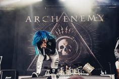 Alissa White-Gluz, Arch Enemy at Heavy Montreal