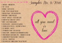 4more Sampler No. 9/2014  {all you need is love} Cro, Moby, Pet Shop Boys, Morcheeba & much more