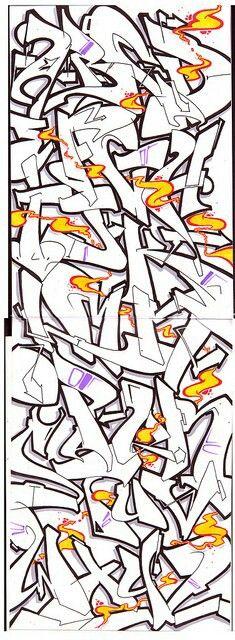 Nice Graffiti Alphabet Styles, Graffiti Lettering Alphabet, Graffiti Text, Graffiti Piece, Graffiti Writing, Tattoo Lettering Fonts, Graffiti Tagging, Graffiti Styles, Street Art Graffiti