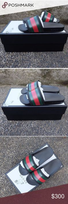 Gucci slides woman Wanting to trade for tian pair Gucci Shoes