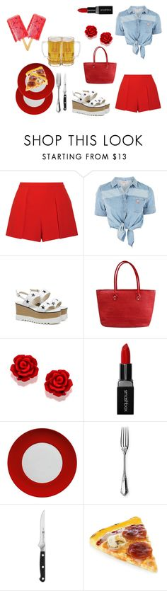 """""""Day 51 - 100 day Challenge"""" by sofifer ❤ liked on Polyvore featuring Alice + Olivia, GUESS, Smashbox, Waechtersbach, Ercuis and Zwilling"""