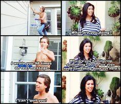Hahahaha oh the Kardashians! #KourtneyKardashian #Kardashian #Funny
