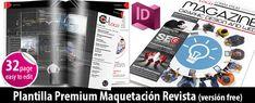 Plantilla Revista Indesign Free Magazine Template