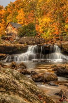 Amazing Places that will Leave you Without Words Part 2 - The Glade Creek Grist Mill, West Viginia, USA
