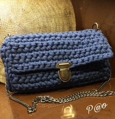 Deeply Blue Bag