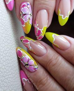Edge Nails, Nail Designs, Beauty, Nailart, Nail Desings, Beauty Illustration, Nail Design, Nail Organization, Nail Art Ideas