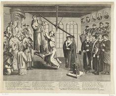 De bijbel op de weegschaal, anoniem, 1677 - 1690