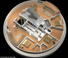 A proposed condo in a missile silo in Kansas.   Sign me up.